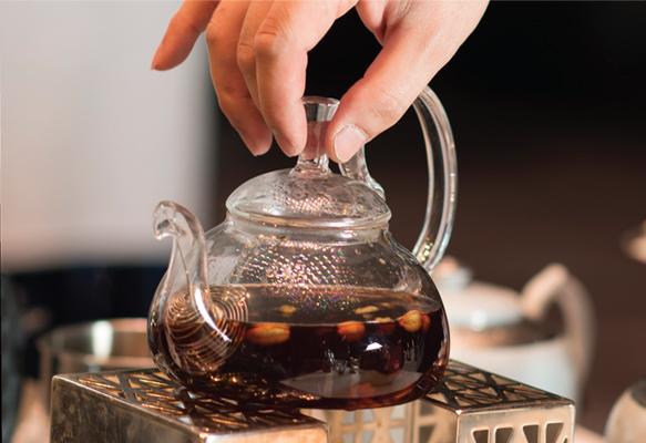 Tea in five senses