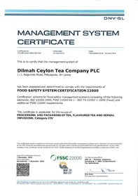 Food Safety System Certification